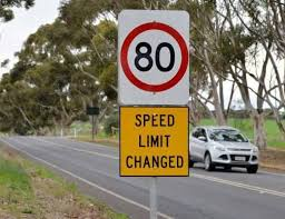 Daylesford Malmsbury Road – community welcome speed reduction